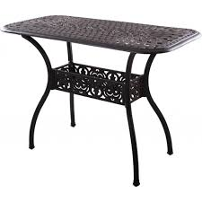 Patio Tables Only Outdoor Garden Small Cast Iron Patio Table Design The