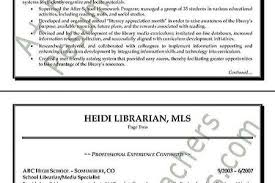 Librarian Resume Example by Resume Sample Library Reentrycorps