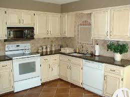 Painting Kitchen Cabinets Antique White Fabulous Painting Kitchen Cabinets Antique White Home