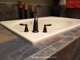 master bath remodel u2013 bathtub phase diy dad