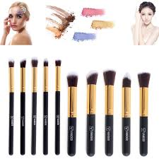 32pcs soft muticolor vander pro eyebrow shadow makeup brush set