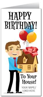 happy birthday to your house real estate card 81008 harrison