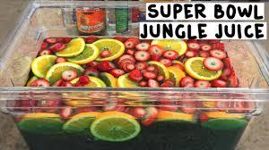 super bowl jungle juice tipsy bartender youtube