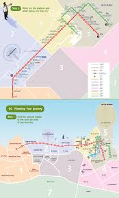 Metro Los Angeles Map by Dubai Metro Map