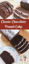 classic chocolate pound cake recipe veena azmanov