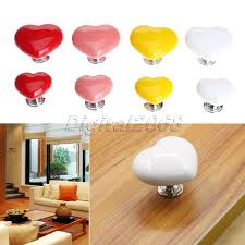 compare prices on door knobs kitchen online shopping buy low ceramic 8 colors heart shaped handles and knobs door handles kitchen cabinet cupboard drawer pull knobs