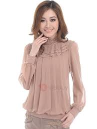 pleated blouse color layer pleated blouse tidebuy com
