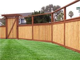 bamboo fence panels for backyard privacy best house design
