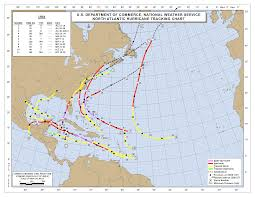 Where Is Destin Florida On The Map by Nhc Data Archive