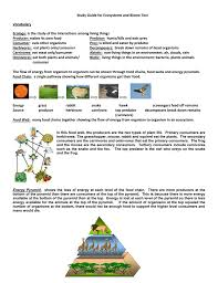 study guide for ecosystems and biome test vocabulary ecology is