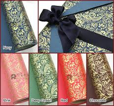 high christmas wrapping paper 10m 1roll high quality wrapping paper sided by papernribbon