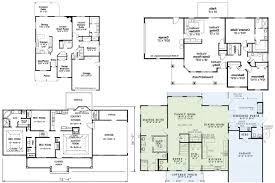 100 hillside floor plans 100 floor plans for basements