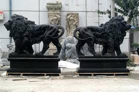 lions statues concrete lion garden statues concrete lion pair garden statue