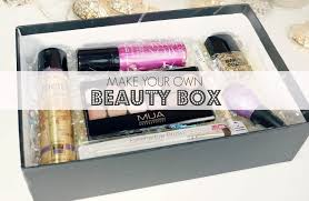 birds words beauty fashion lifestyle make your own beauty box