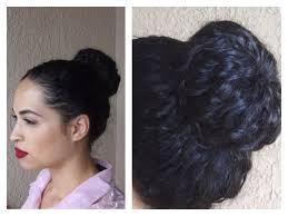 sock hair bun sock bun for curly hair
