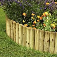 10 garden edging ideas with wood for an earthy garden garden