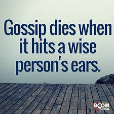 Hit The Floor Meaning - gossip dies when it hits a wise persons ears inspirations