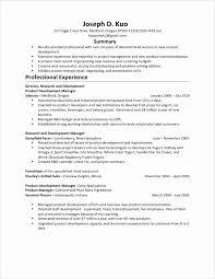 Resume For Fast Food Busser Resume Sample Sample Example Distribution Pallets Baker