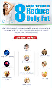 simple exercises to reduce belly fat fast home remedy tips