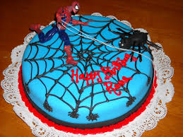 easy way to make kids birthday cakes spiderman the best party cake