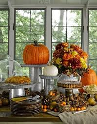 glamorous thanksgiving buffet table decorating ideas 51 for your