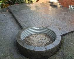 Creative Brick Patio Design With Pergola Tub Seat Walls And by With 445 Sq Ft Our Tub Patio Design With Seat Walls