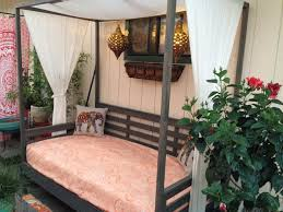 Outdoor Day Bed by Ana White Outdoor Daybed With Canopy Diy Projects