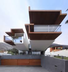 amazing cantilevered modern home architecture in mountains offer