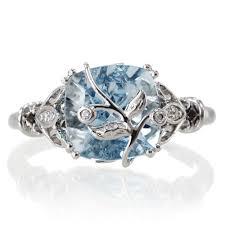 aquamarine wedding rings the beauty of aquamarine wedding rings rikof
