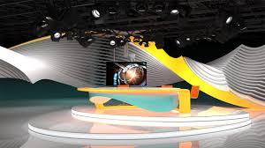 tv studio 3d free broadcast programm program camera design future