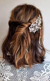 coiffure pour mariage cheveux mi coiffure cheveux mi mariage les coiffes de mariage 2016