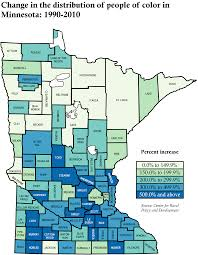 State Of Mn Map by Populations Of Color And American Indians Chs Admin Handbook
