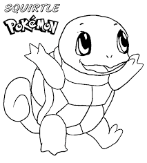 pokemon free printable coloring pages squirtle coloring pages u2013 barriee