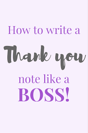 thanksgiving letter to boss how to write a thank you note like a bamf the paperdashery