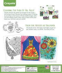 make my own coloring book amazon com crayola elegant escapes coloring book crayola