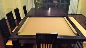 dining table converts to pool table convert pool table dining table dining table