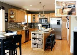 Kitchen Wall Colors With Maple Cabinets Kitchen Cabinet Colors With Gray Walls Beautiful Outstanding