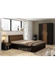 Bedroom Sets King Size Bed Seyi Mdf Hdf Bedroom Set King Size Bed Bedside Table Triple