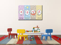 tableau de chambre tableau chambre enfant tableau color et original pour chambre bb