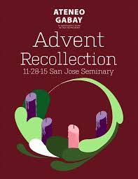 Recollec - advent recollection 2015 ateneo gabay