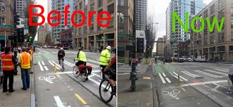 Seattle Times Traffic Flow Map by New 2nd Ave Traffic Signals Clear Up Confusion Seattle Bike Blog