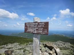 Baxter State Park Map by Traveler Mountain Loop Hike Maine U2013 The Peak Seeker