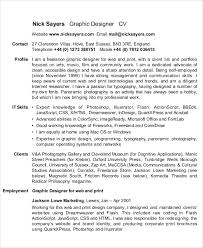 Resume Templates For Mac Also by Graphic Designer Resume Templates 9 Free Word Pdf Format