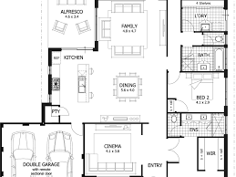 Four Bedroom House Plans One Story 4 Bedroom Townhouse Floor Plans Descargas Mundiales Com