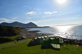 family camping at stunningly beautiful aberafon potty adventures