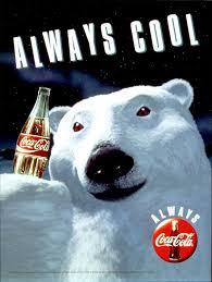 Coke Bear Meme - cola polar bear always cool