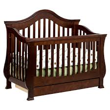 Cribs Convert To Toddler Bed by Million Dollar Baby Classic Ashbury 4 In 1 Sleigh Convertible Crib