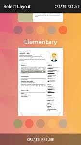 Student Resume Creator by Rocket Resume Builder Android Apps On Google Play