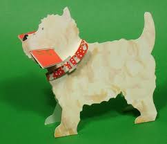dog shaped christmas cards black country gifts
