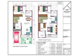 plush design duplex house plans for 20x40 site east facing 14 20 x